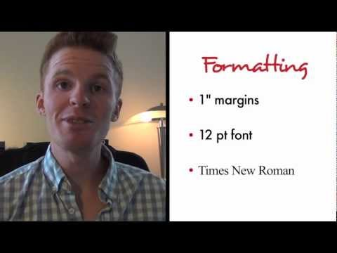 Formatting Your Essay: College Application Tip