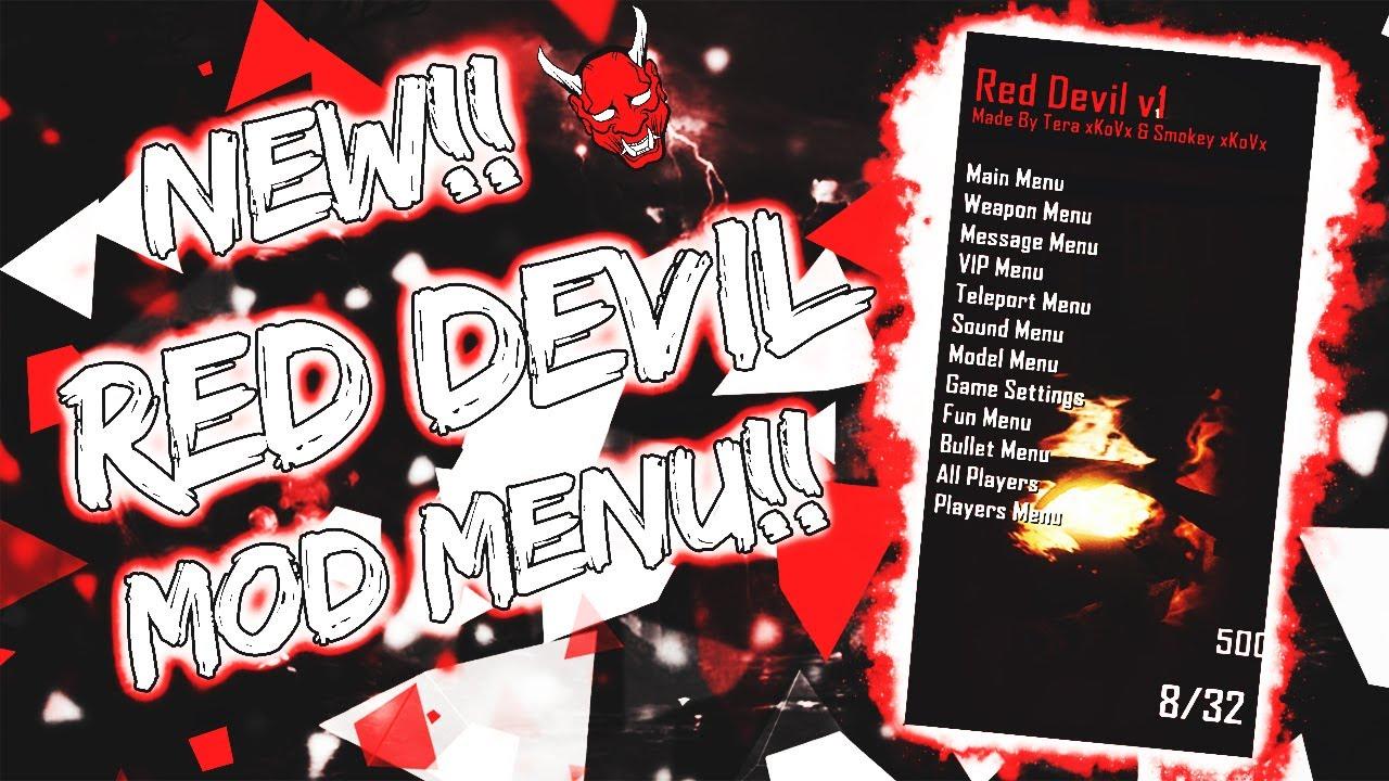 NEW!!! BO2 - RED DEVIL V1 MOD MENU 2017!! | FREE DOWNLOAD!! (JTAG/RGH)