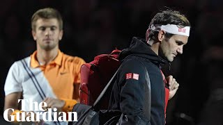 'He was better than me' - Federer falls in Shanghai against Coric