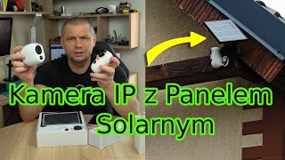 Kamera IP na baterie, Kamera IP z panelem solarnym