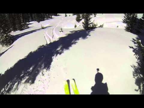 GoPro Line of the Winter: Leo Baldiga - Keystone Colorado 041016 - Snow
