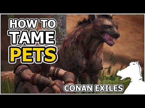 How To Tame PETS | CONAN EXILES