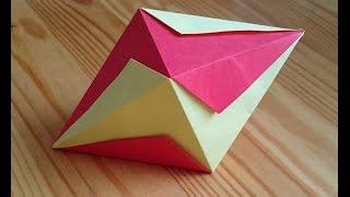 Origami The Lightning Bolt Octahedron