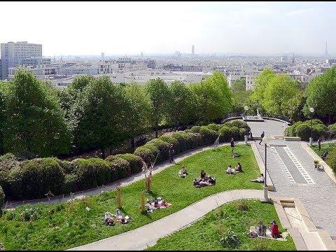 Places to see in ( Paris - France ) Parc de Belleville