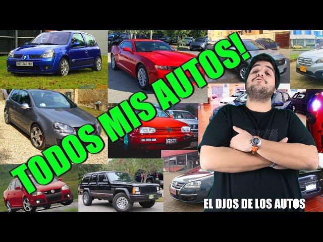 TODOS MIS AUTOS- MÁS DE 10 ANTES DEL CAMARO
