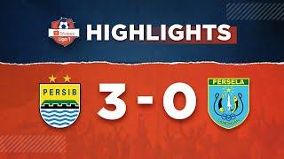 Persib Bandung 3-0 Persela Lamongan | Highlights Shopee Liga 1  1/3