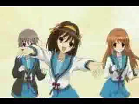 Haruhi Dance - Hare Hare Yukai ( Full )