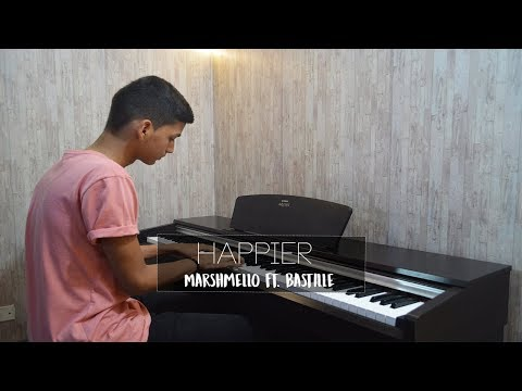 Marshmello  - Happier Feat. Bastille | Piano Cover +  Sheet Music