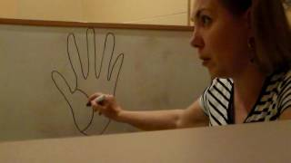 уроки хиромантии , форма ногтей