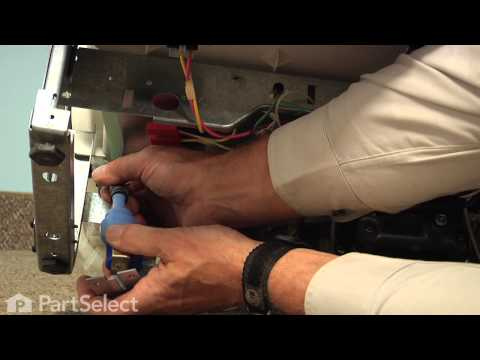 Dishwasher Repair - Replacing the Water Inlet Valve (GE Part # WD15X10003)