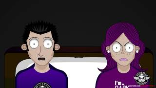TRUE ROOMMATE FROM HELL  HORROR STORY ANIMATED