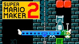 ¡¡ YO NO he tocado ese CHECKPOINT !! [Super Mario Maker 2]
