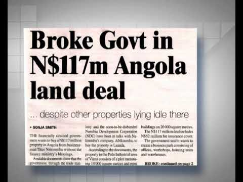 Industrialisation ministry urged to stop plans to buy land in Luanda-NBC