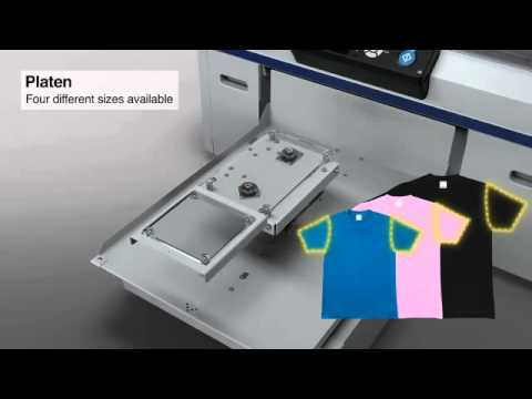 Download Introducing the Epson SureColor F2000 direct-to-garment printer
