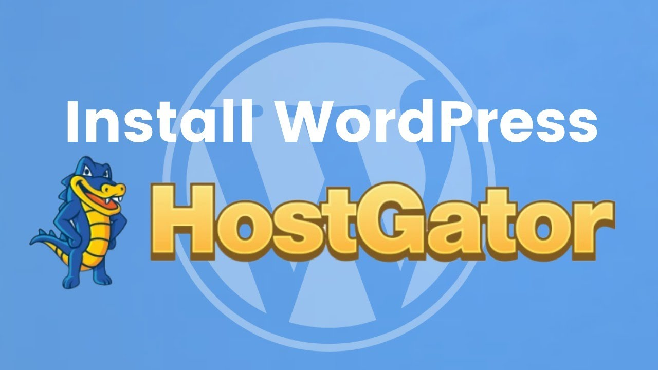 How to Install WordPress on HostGator in May 2020 (Step-by-Step Tutorial)
