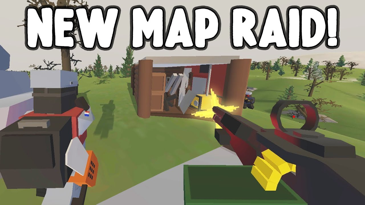 Unturned Seattle Map.Raiding A Team Of 3 On The New Map Unturned France Base Raid
