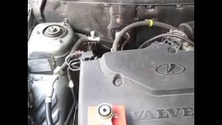 Заміна верхньої опори двигуна, на Пріорі з кондиціонером 16 клапанним двигуном