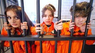 !!! تحدي قضيت ٢٤ ساعة في السجن