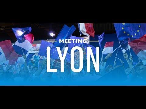 Meeting Régional de Lyon avec Gerard Collomb |Emmanuel Macron