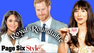 Royal Baby Archie & Meghan Markle's Post-Birth Outfit | Royal Roundtable | Page Six Style