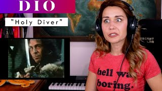 """Dio """"Holy Diver"""" REACTION & ANALYSIS by Vocal Coach / Opera Singer"""