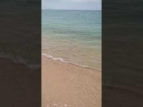 mirror water... amazing Samui beach Thailand 2021
