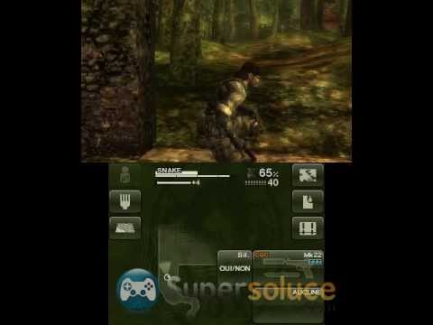 Let's play Metal Gear 3DS part 3 (MGS Snake Eater/French)