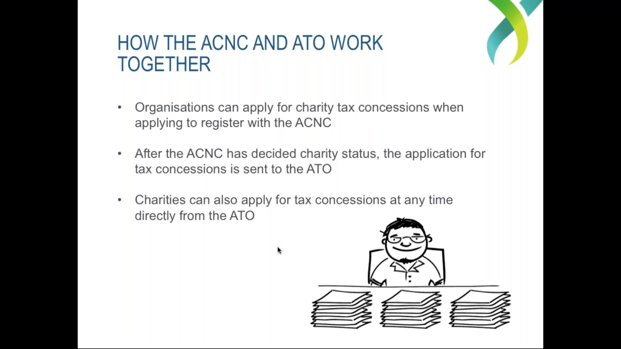Webinar - The ACNC and the ATO - Charity tax concessions and ...