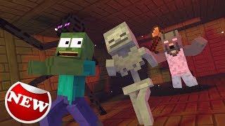 - Monster School granny horror game challenge