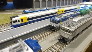 【Nゲージ】電気機関車祭り【鉄道模型】