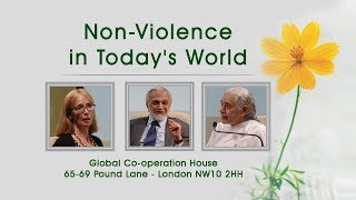 NON-VIOLENCE IN TODAY'S WORLD | Lord Bhikhu Parekh, Sister Jayanti & Emily Buchanan
