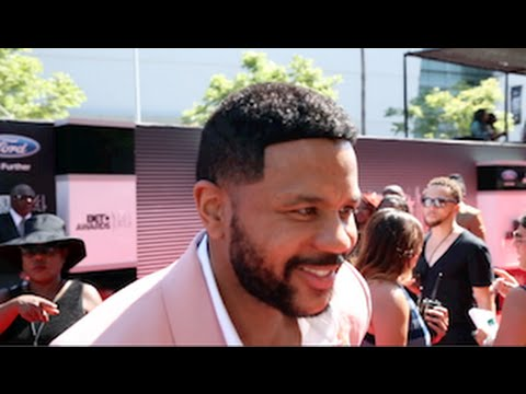 Hosea Chanchez on the 2014 BET Awards Red Carpet