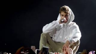 Justin Bieber - talking / purpose (live @ London, England 29 nov 2016)