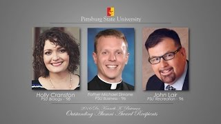 2016 Outstanding Alumni Award Reception - Pittsburg State University