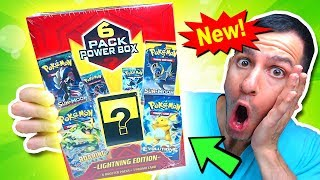 THERE'S A NEW POKEMON MYSTERY POWER BOX AT WALMART AND IT'S GOOD!
