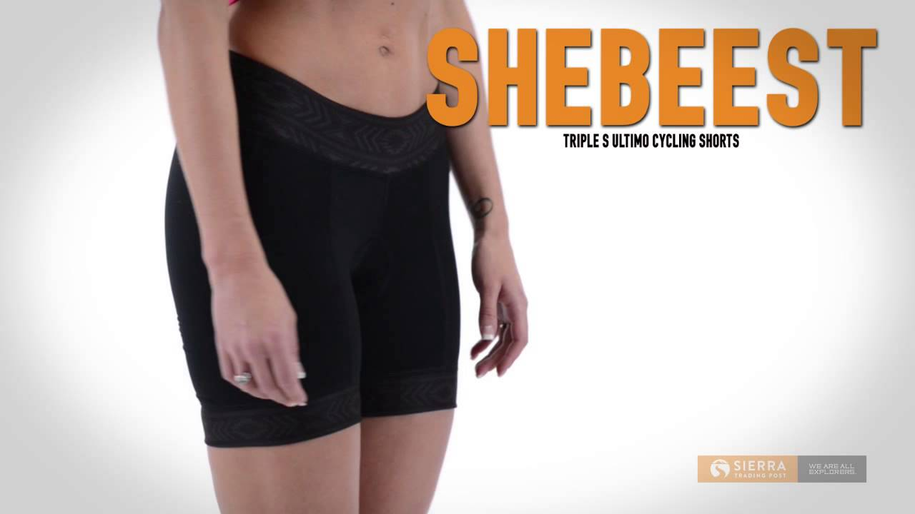 Shebeest Triple S Ultimo Cycling Shorts (For Women) - YouTube 9214c3bf6