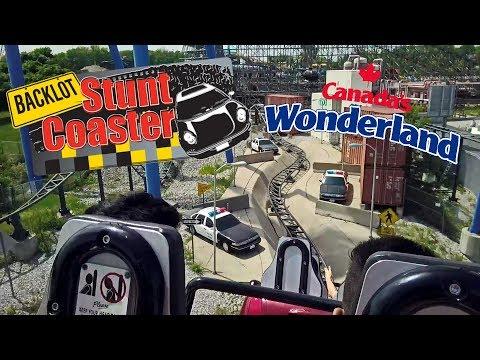 2018 Backlot Stunt Coaster On Ride HD POV Canada's Wonderland