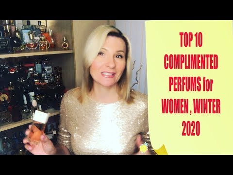 TOP 10 Most COMPLIMENTED PERFUMES For Women WINTER 2020