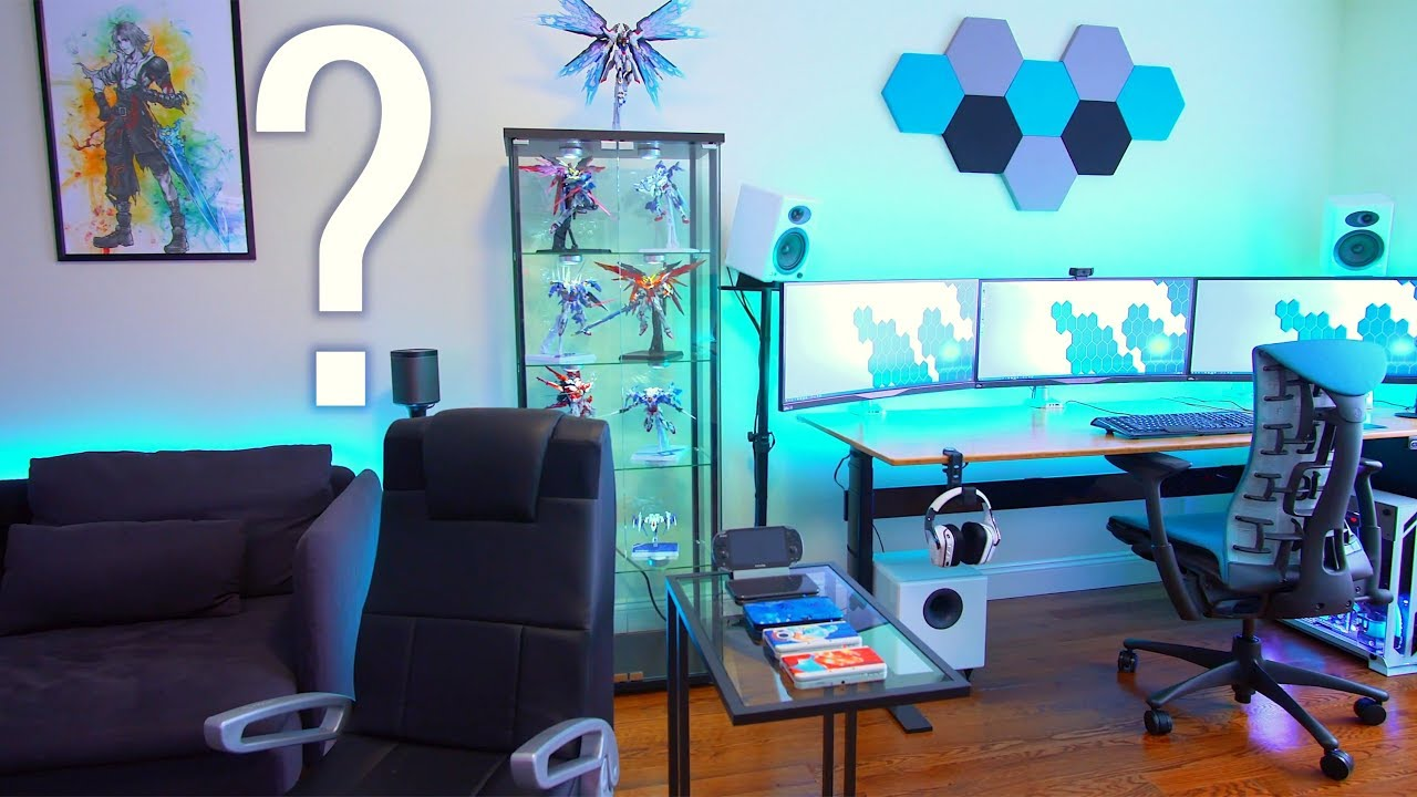 pc gaming in the living room the next room tour askuac 26167