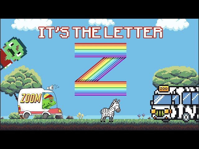 Letter Z Song | Kids Music | Early Learners | Elektro Kids