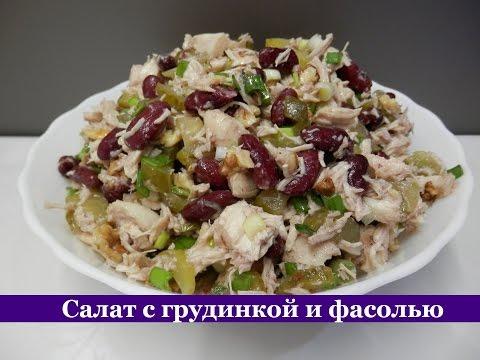 Салаты рецепты салат(без майонеза) с перцем и курицей