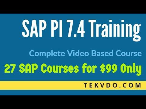 SAP PI Training - Enterprise Services Repository - Complete Course