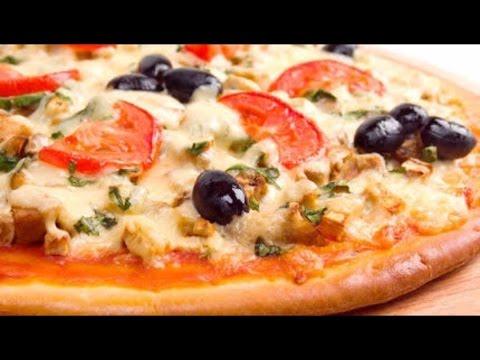 صورة  طريقة عمل البيتزا أفضل واسرع طريقه لعمل البيتزا الشهيه بعجينه العشر دقائق مع صلصة الببتزا طريقة عمل البيتزا من يوتيوب