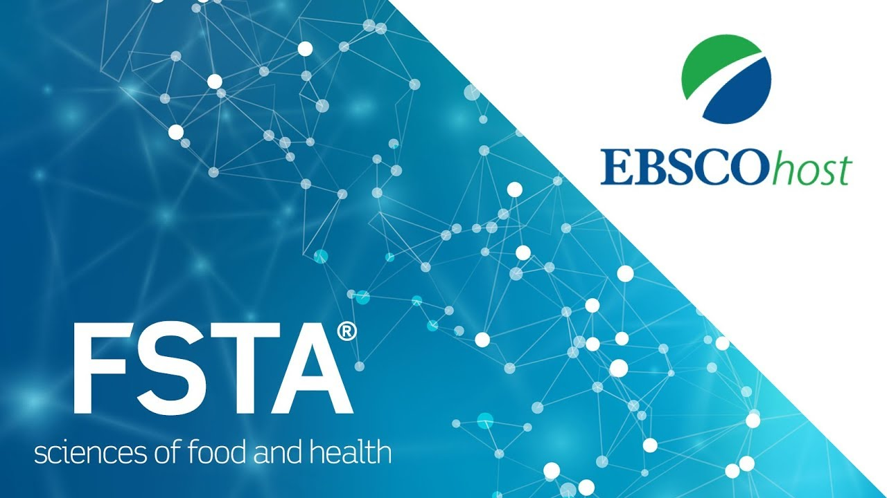 Fsta Demo For Ebsco Food Science And Technology Abstracts Youtube