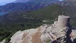 Tour de séneque commune de luri Cap Corse