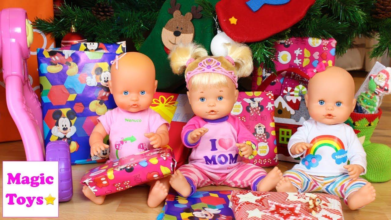 Y De Olivia Su Traviesas Hermanita Navidad Noel Bebé Las Regalos Papá Hermanitas Nenuco Own0kP