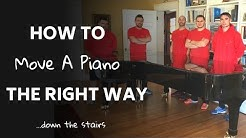How to move a piano - Boston piano movers