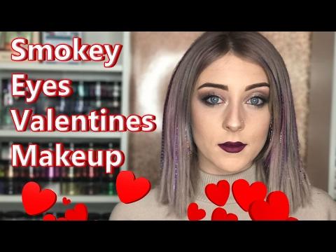 Smokey Eyes Valentines Makeup Tutorial
