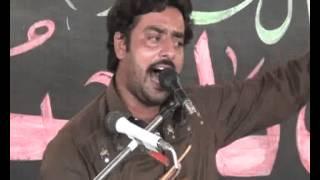 Zakir Sajid Hussain shah of Dera majlis 19 April 2015 jalsa Muzafargurh