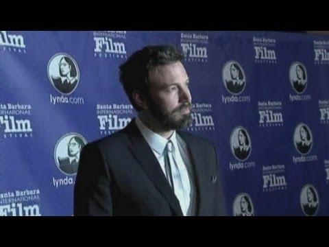 Ben Affleck honoured at Santa Barbara International Film Festival